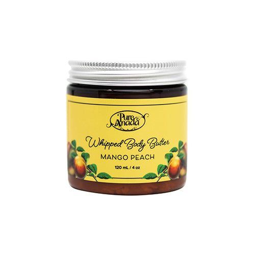Whipped Body Butter - Mango & Peach 120ml