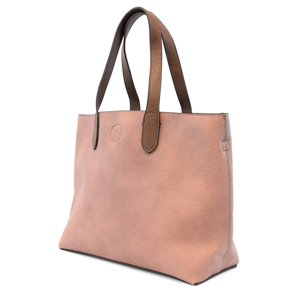 Mariah Medium Convertible Tote - Mauve