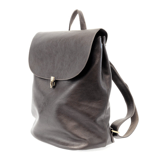 Colette Backpack - Metallic Silver
