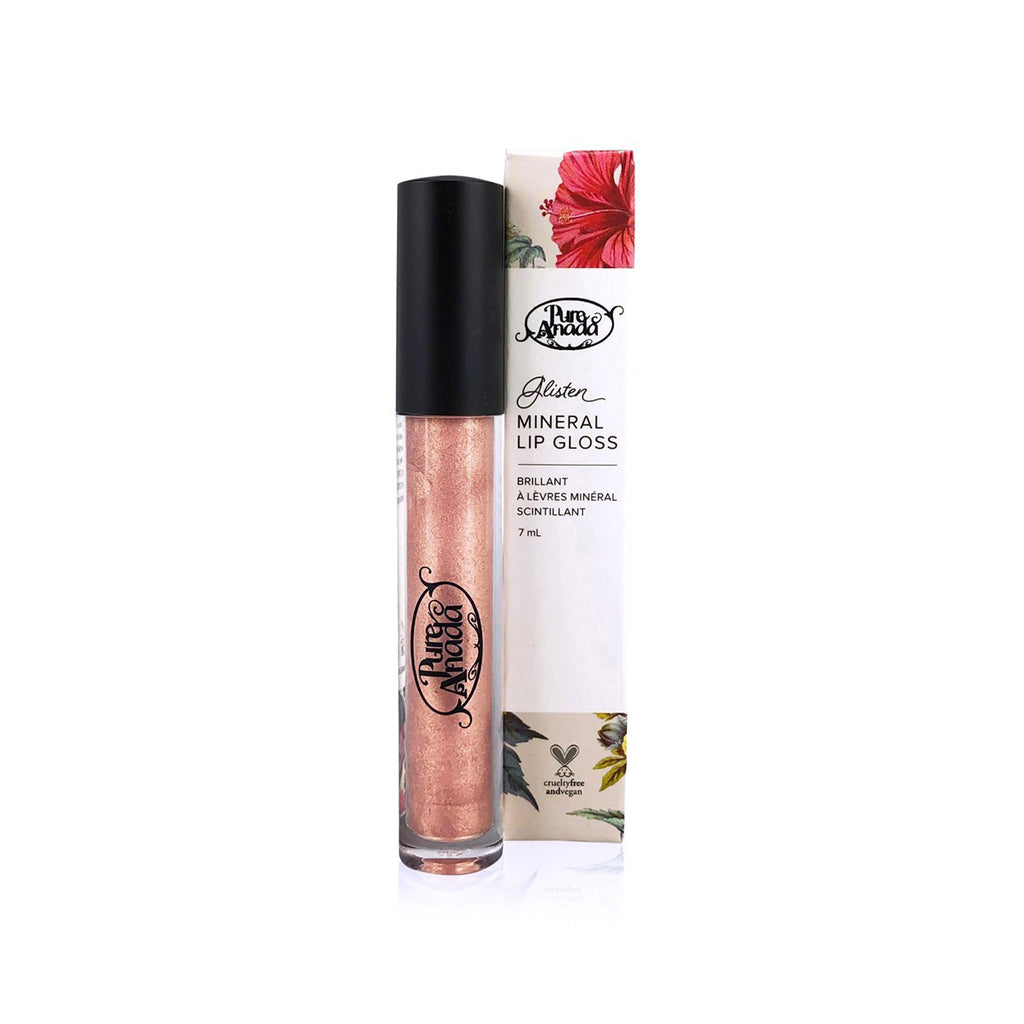 Glisten Mineral Lip Gloss - Morganite 7ml