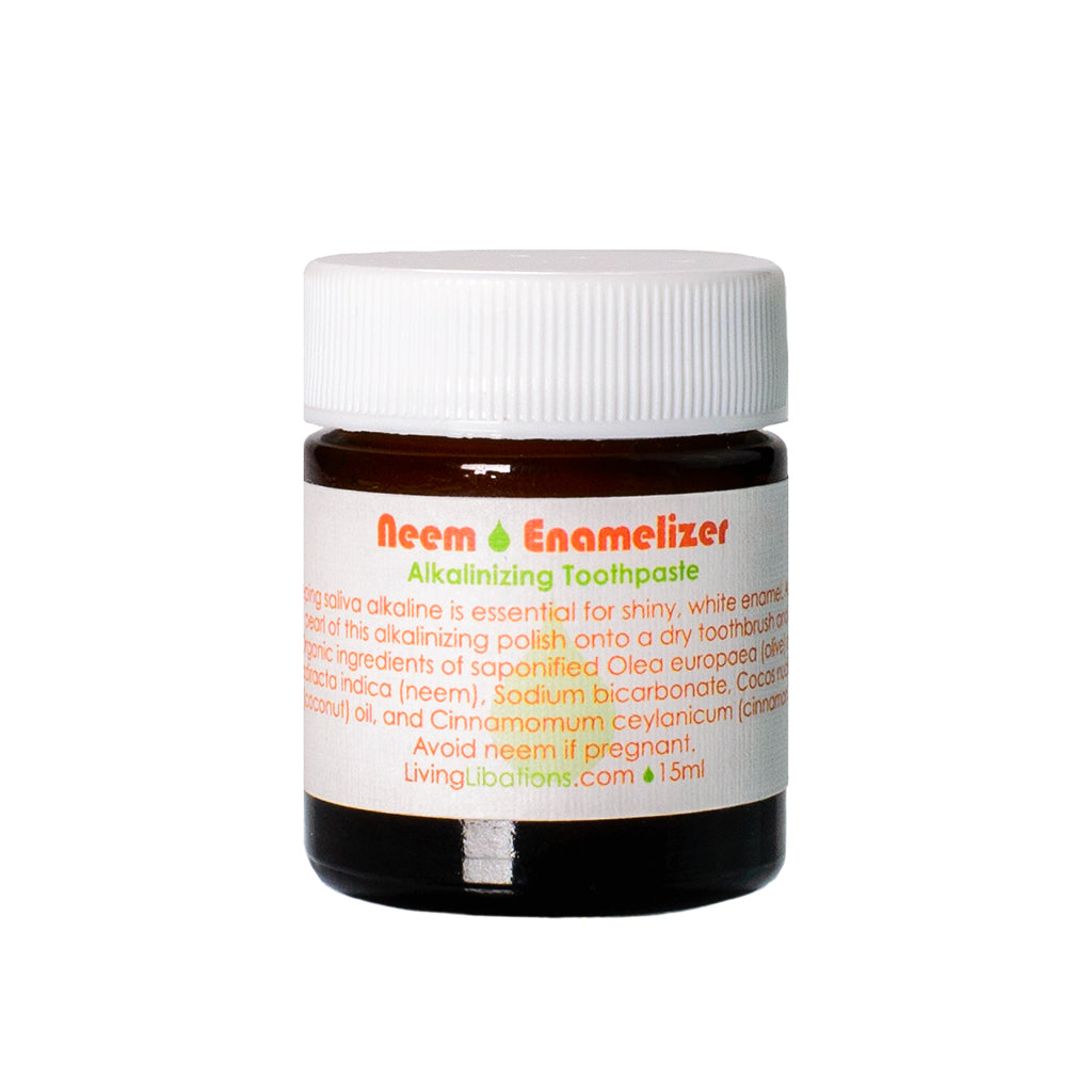 Living Libations Neem Enamaliser Toothpaste 15ml