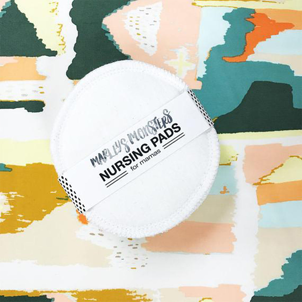 Nursing Pads - White by Marley's Monsters