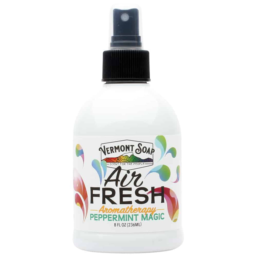 Air Fresh Aromatherapy Spray Mister - Peppermint Magic-VERMONT SOAP-Live in the Light