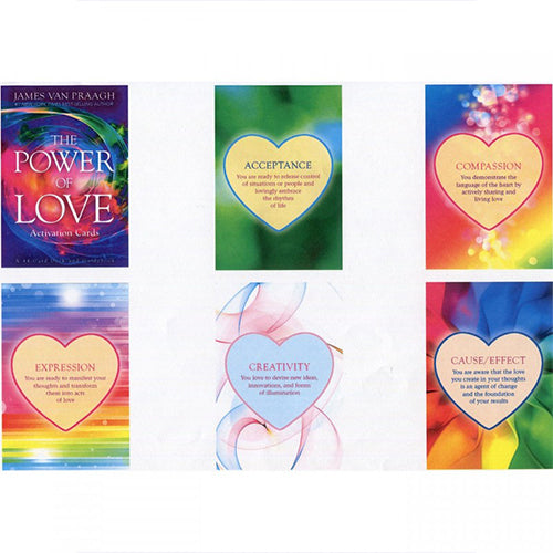 The Power of Love Activation Oracle Cards