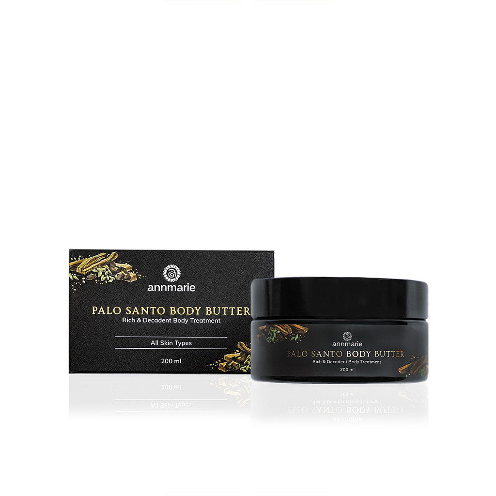 PALO SANTO BODY BUTTER - DECADENT BODY TREATMENT (200 ML)-AnnMarieGianni-Live in the Light