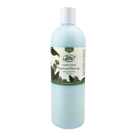 Peppermint Rosemary Conditioner 475ml-PureAnada-Live in the Light