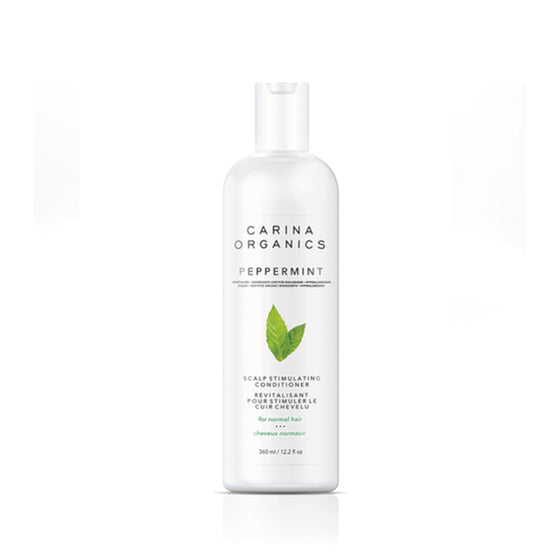 Peppermint Cooling Scalp Stimulating Conditioner 360ml-Carina Organics-Live in the Light