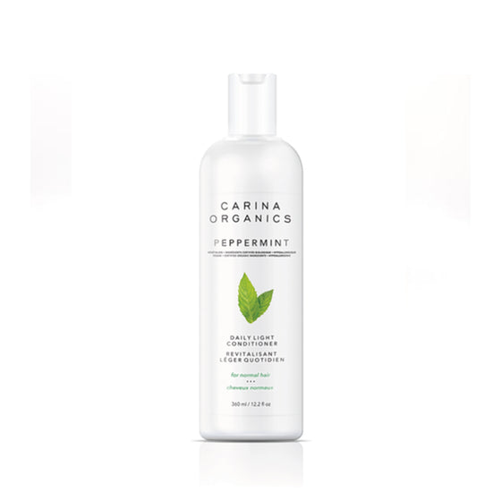 Peppermint Daily Light Conditioner 360ml-Carina Organics-Live in the Light