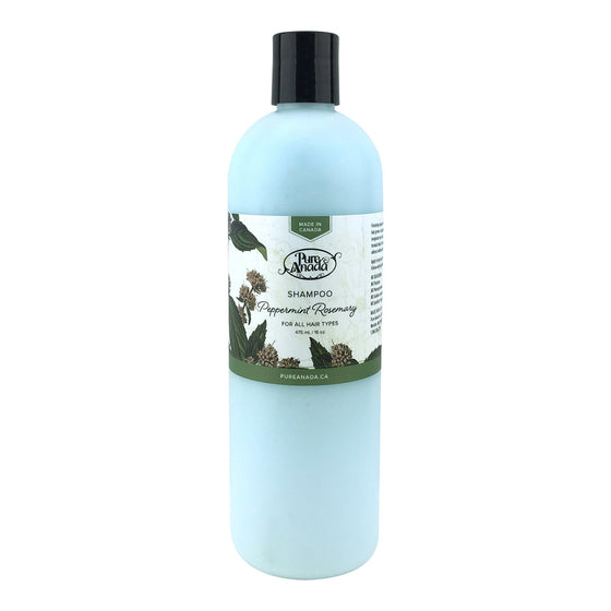 Peppermint Rosemary Shampoo 475ml-PureAnada-Live in the Light