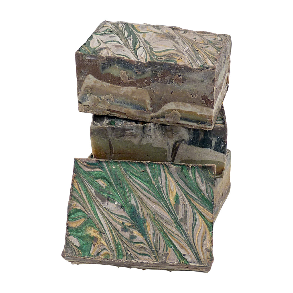 Handmade Soap Slice - Pine & Peppermint 120g