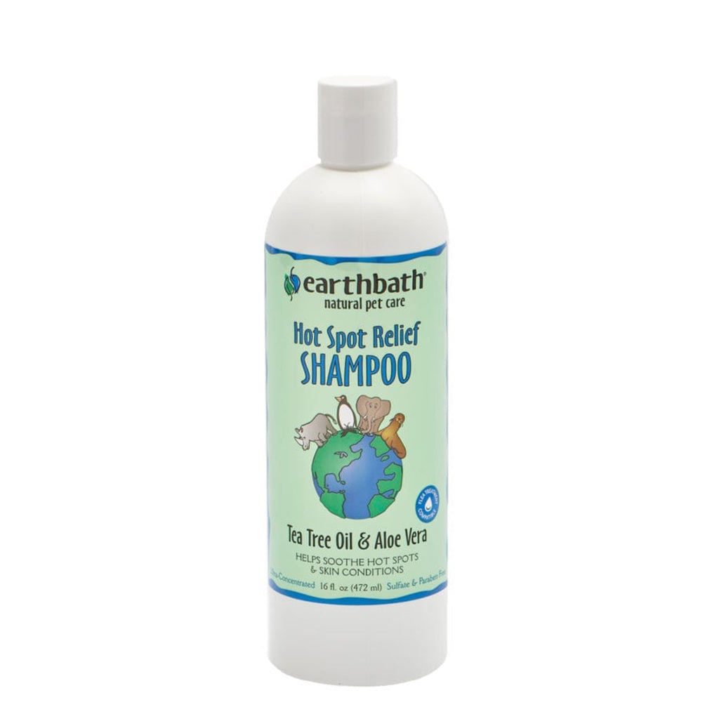 Tea Tree Oil & Aloe Vera - Hot Spot Relief Shampoo - 472ml