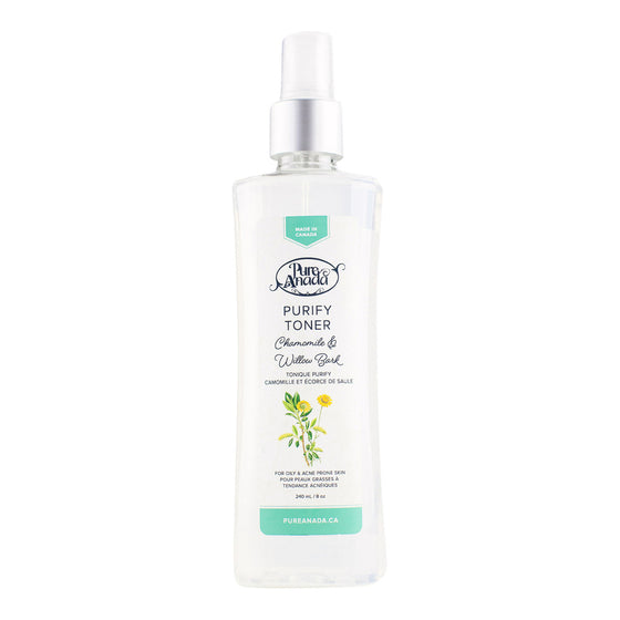 Purify Toner - Chamomile & Willow Bark 240ml-PureAnada-Live in the Light