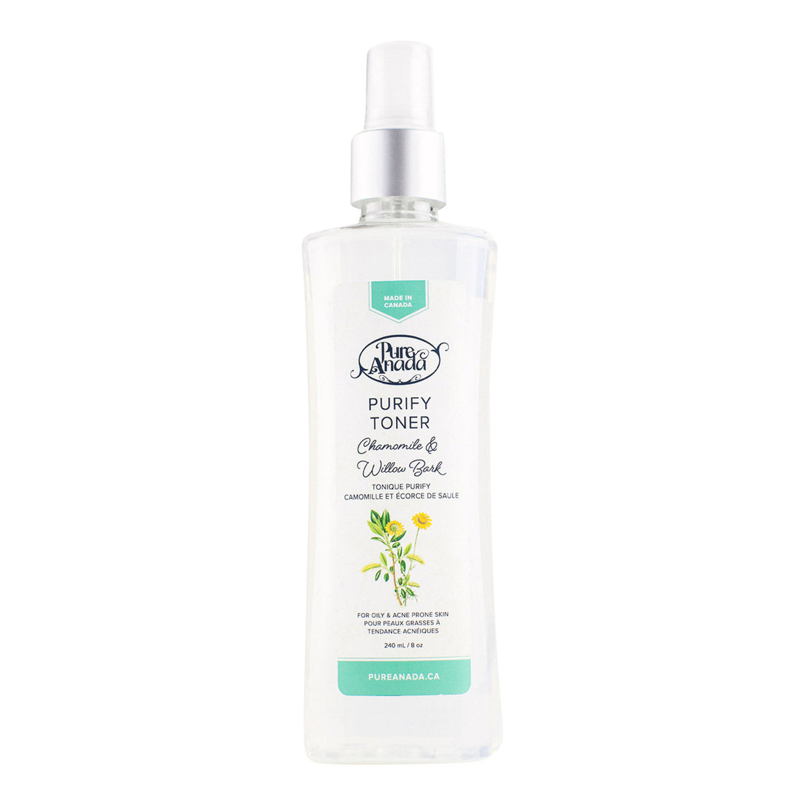 Purify Toner - Chamomile & Willow Bark 240ml