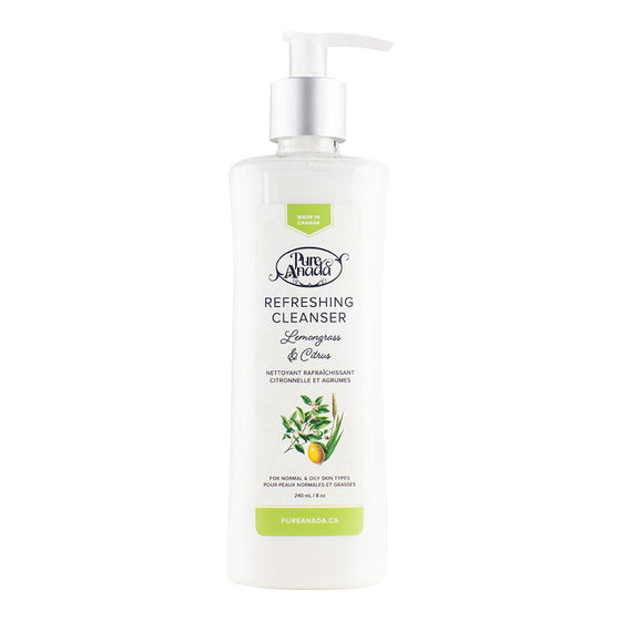 Refreshing Cleanser - Lemongrass & Citrus 240ml-PureAnada-Live in the Light