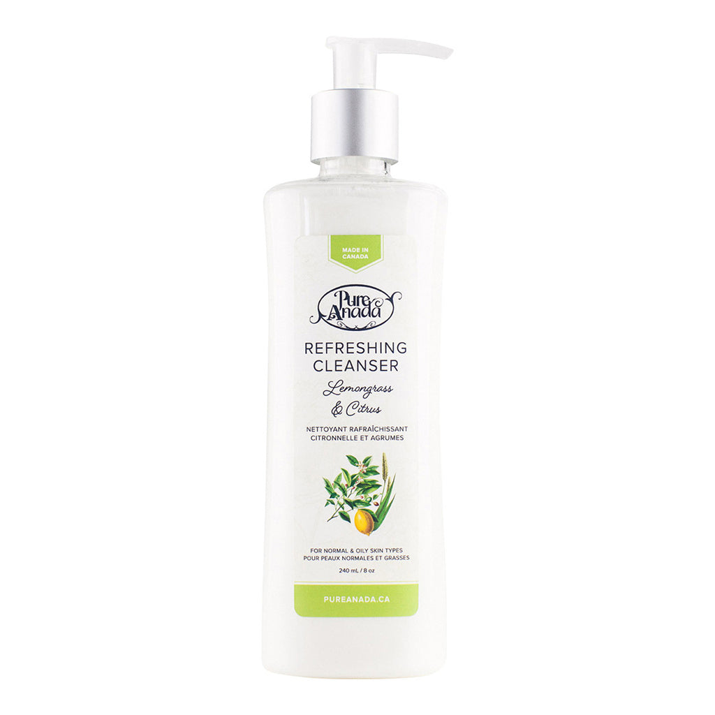 Refreshing Cleanser - Lemongrass & Citrus 50ml-PureAnada-Live in the Light