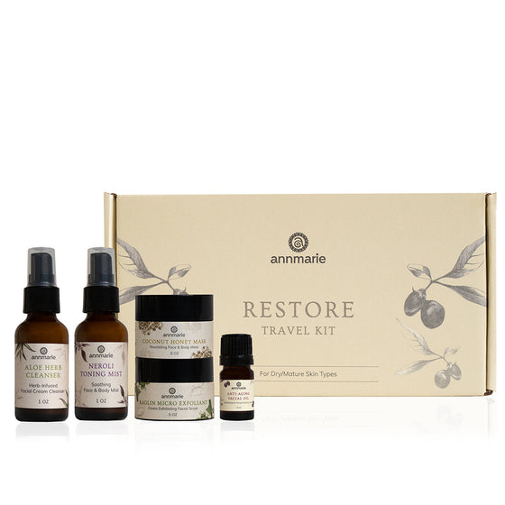Travel Kit Box Restore - Anti Ageing/Dry Skin Care