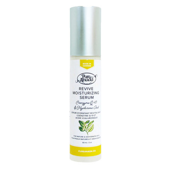 Revive Moisturising Serum - Coenzyme Q10 & Hyaluronic Acid 60ml-PureAnada-Live in the Light