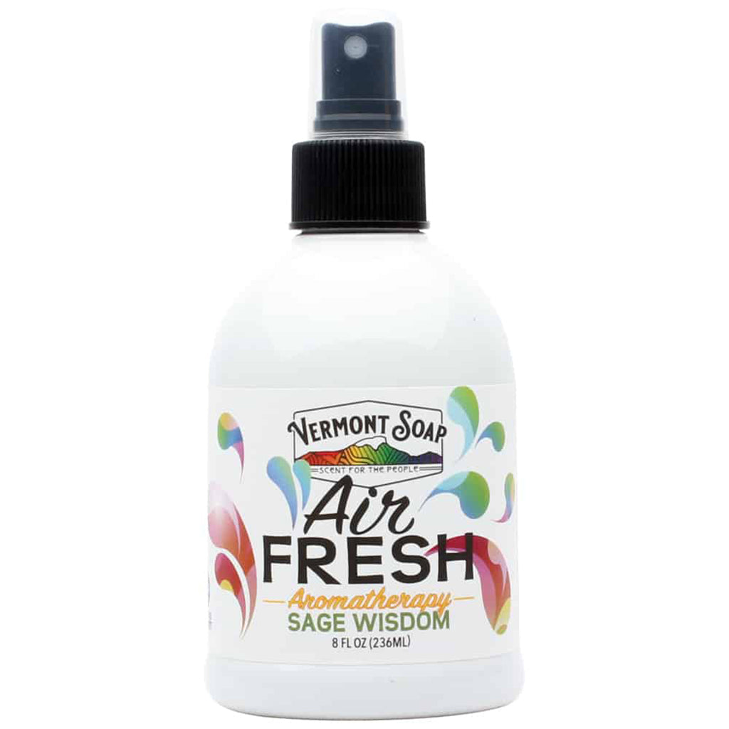 Air Fresh Aromatherapy Spray Mister - Sage Wisdom-VERMONT SOAP-Live in the Light