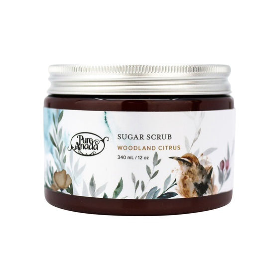 Sugar Scrub - Woodland Citrus 340ml