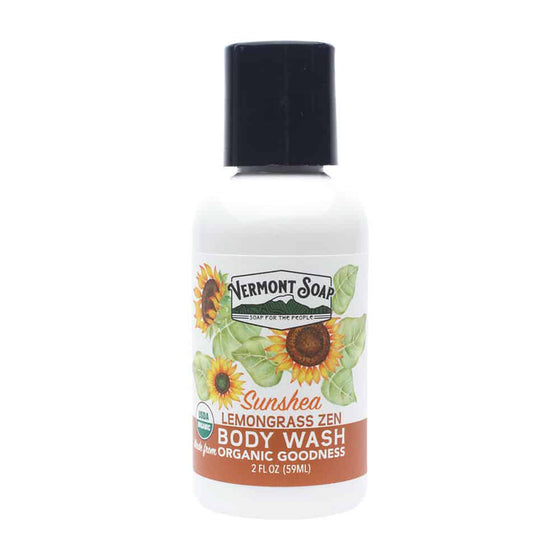 Organic Body Wash - Lemongrass Zen