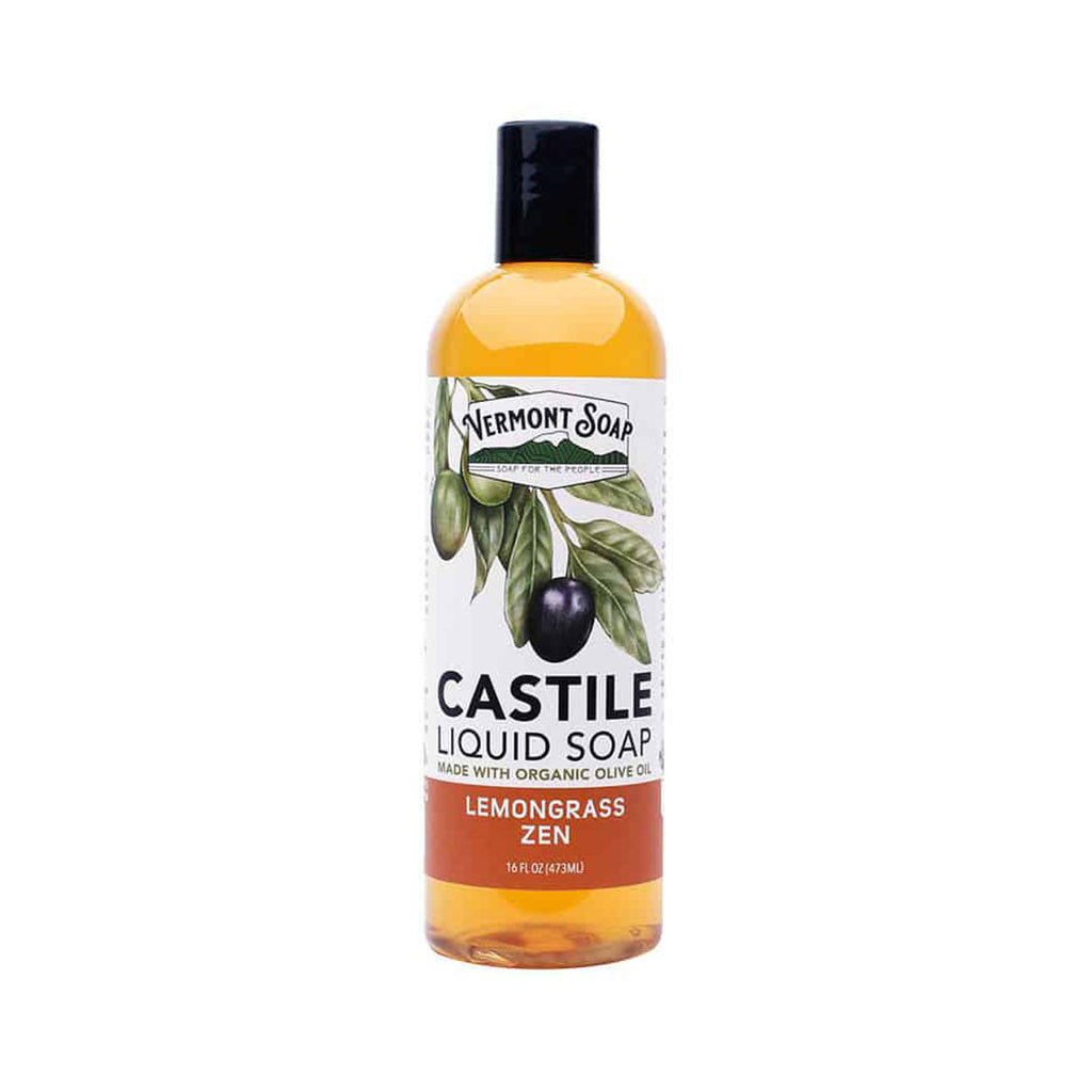 Castile Liquid Soap - Lemongrass Zen