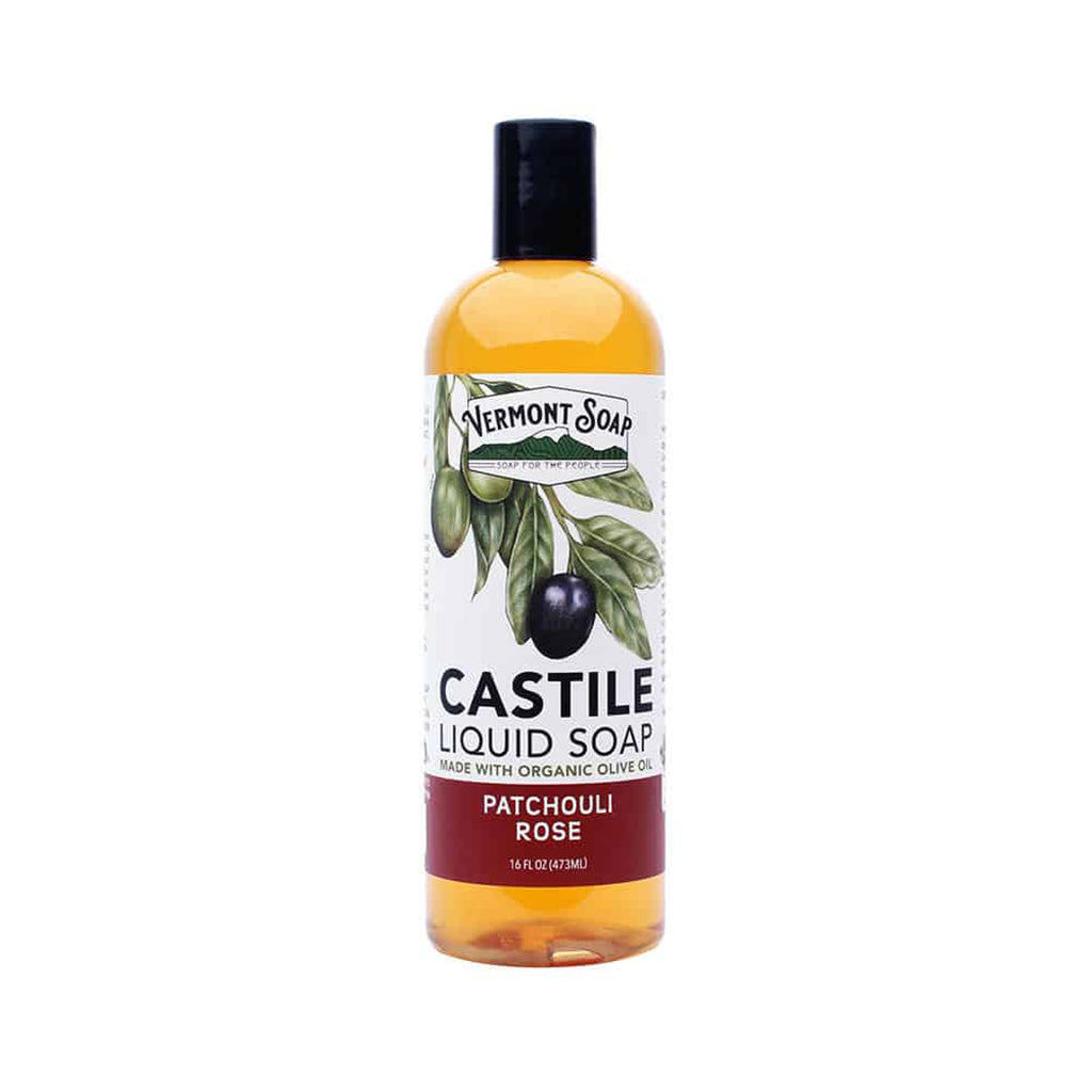 Castile Liquid Soap - Patchouli Rose