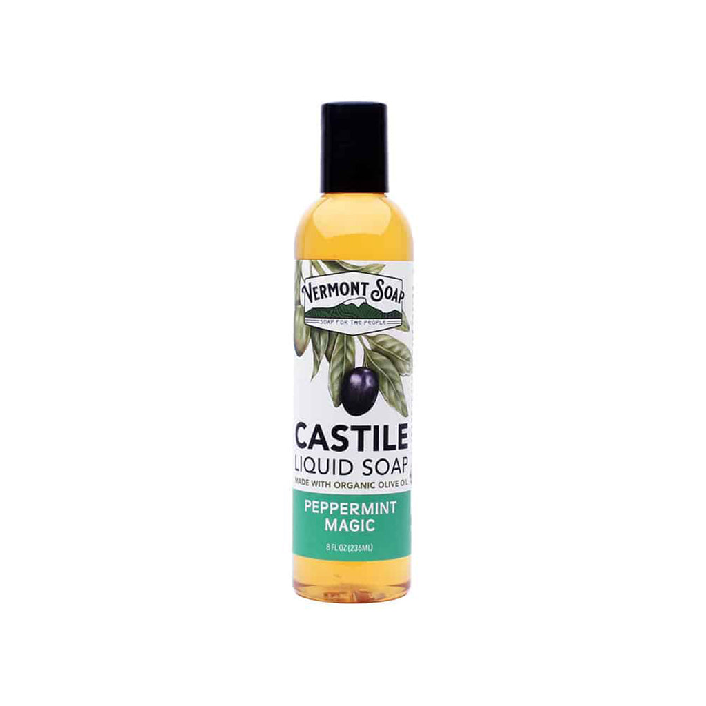 Castile Liquid Soap - Peppermint Magic