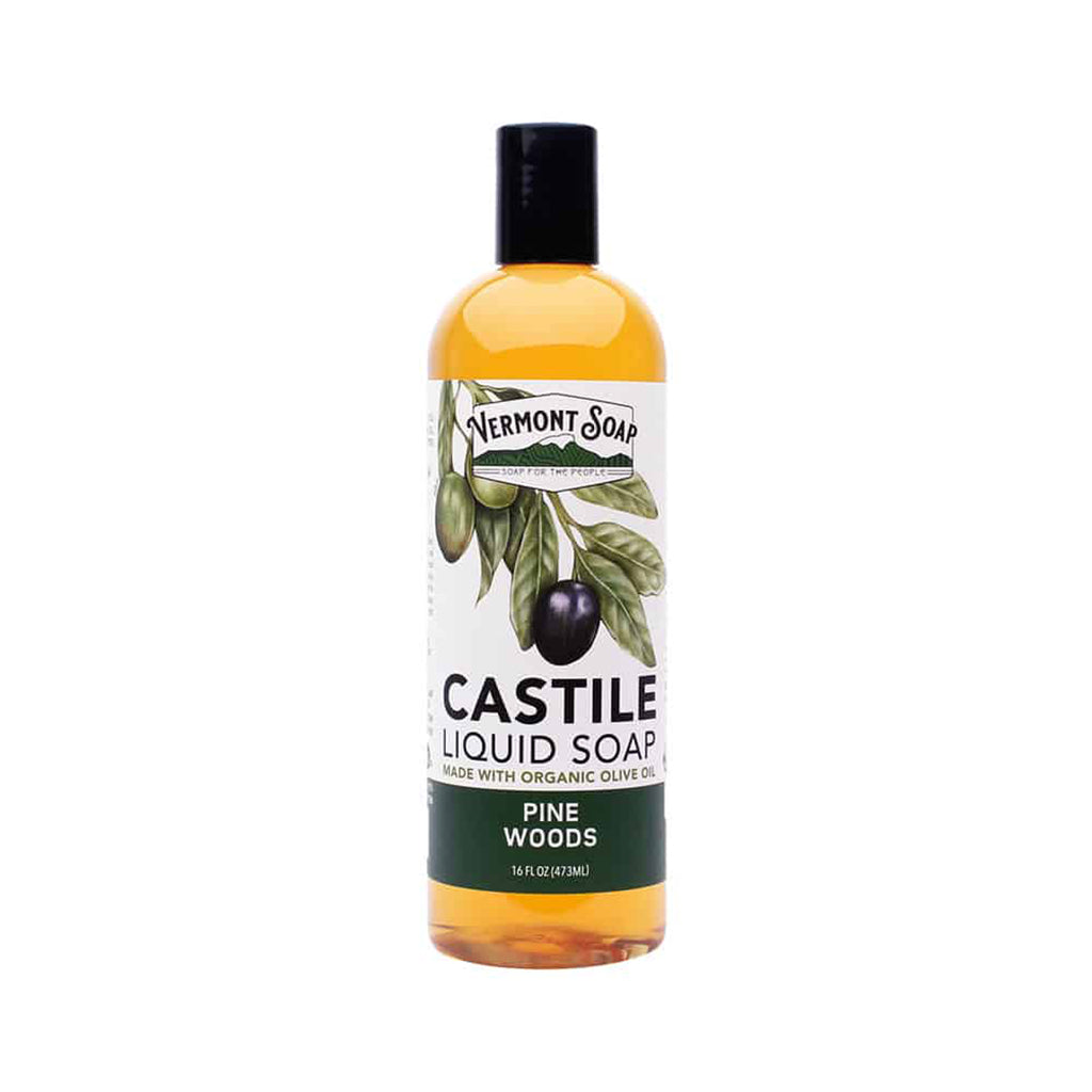 Castile Liquid Soap - Pine Woods