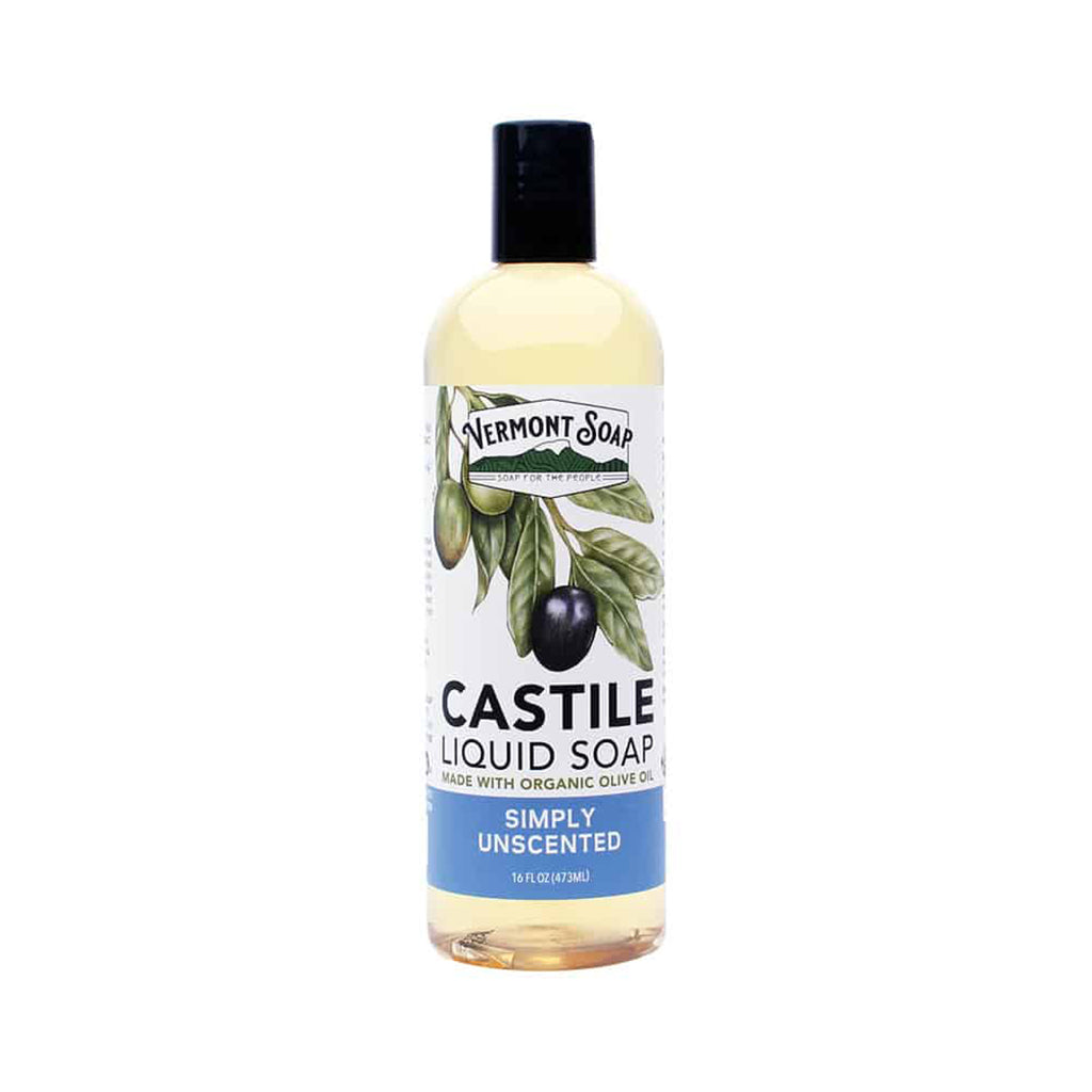 Castile Liquid Soap - Simply Unscented