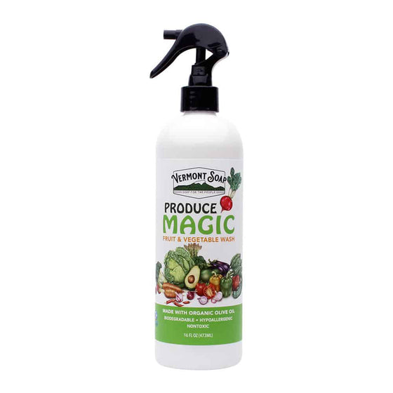 Produce Magic Fruit & Veggie Wash 16oz / 473ml Spray