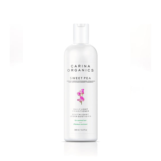 Sweet Pea Daily Light Conditioner 360ml-Carina Organics-Live in the Light