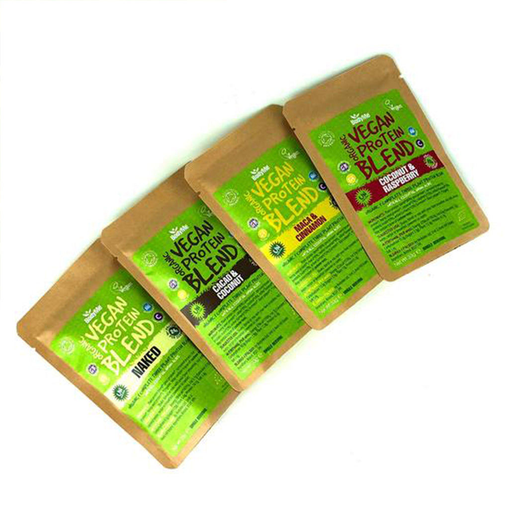 Organic Vegan Protein Blend from BodyMe  - Mixed Sample Pack