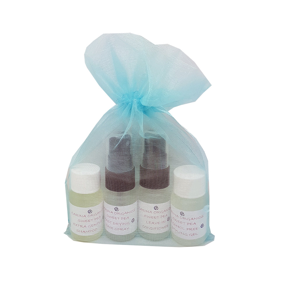 Deep Treatment Sample Kit - Hair-Carina Organics-Live in the Light