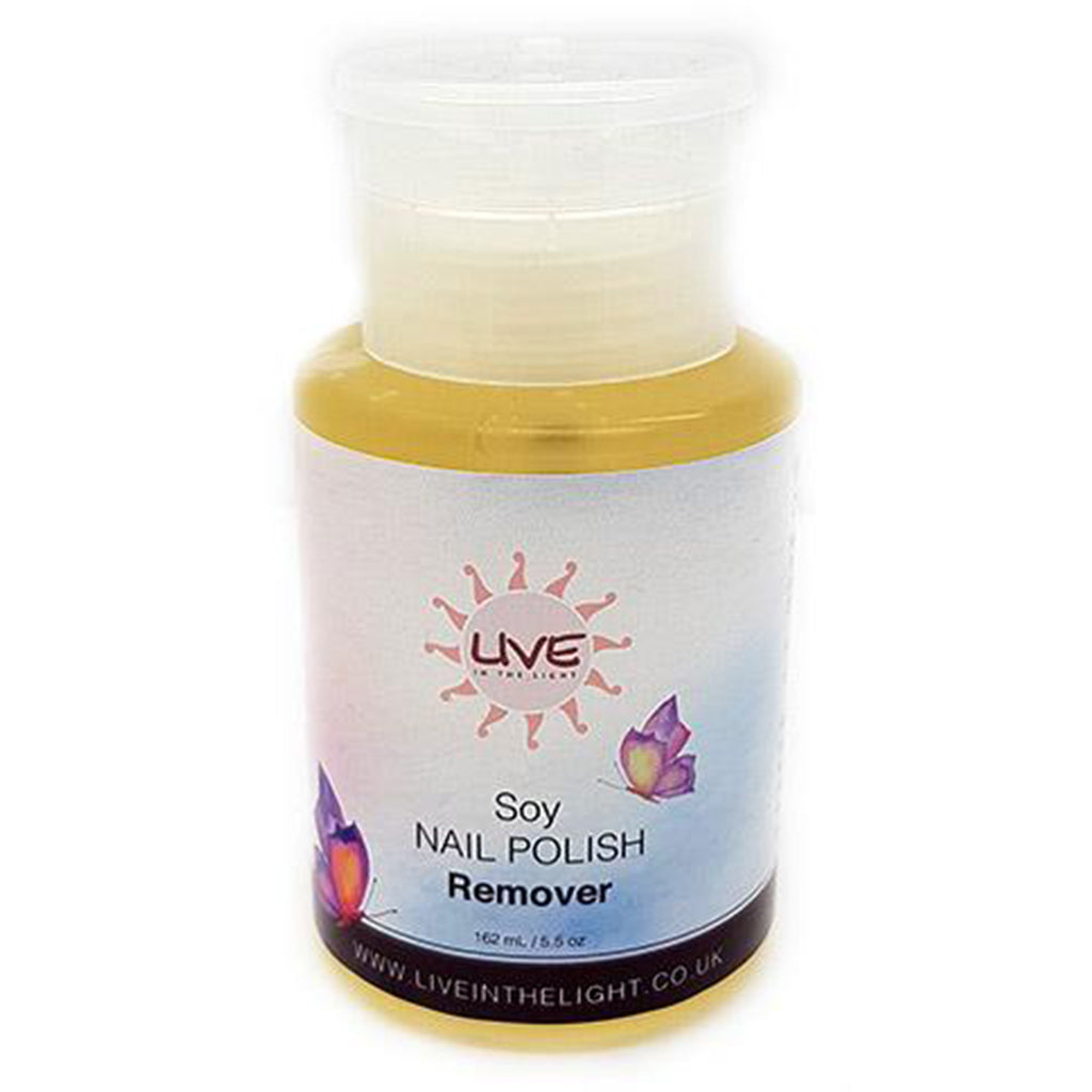 Soy Nail Polish Remover 162ml-PureAnada-Live in the Light