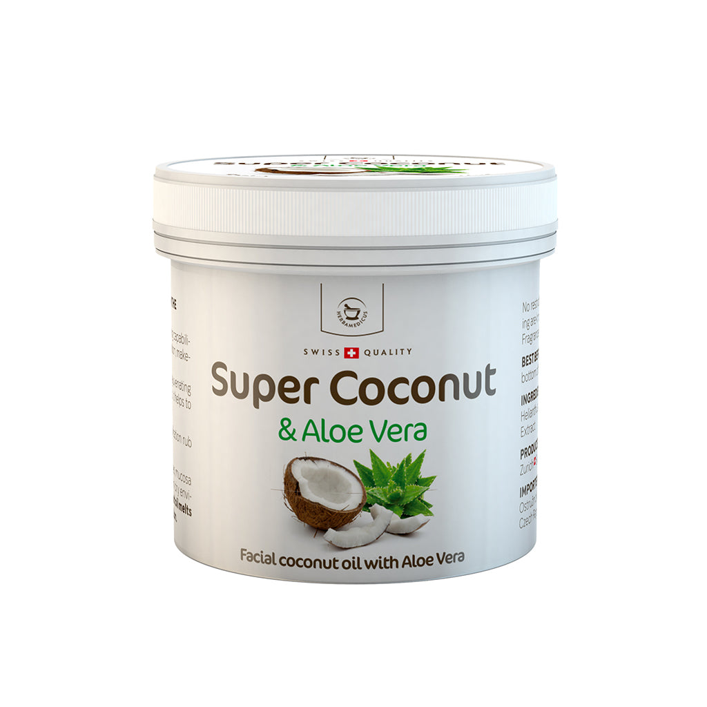Super Coconut - Facial Coconut Oil with Aloe Vera - 150 ml