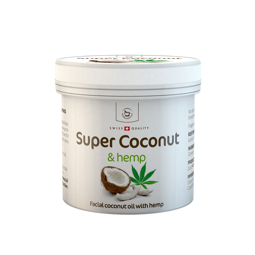 Super Coconut – Facial Coconut Oil with Hemp - 150ML