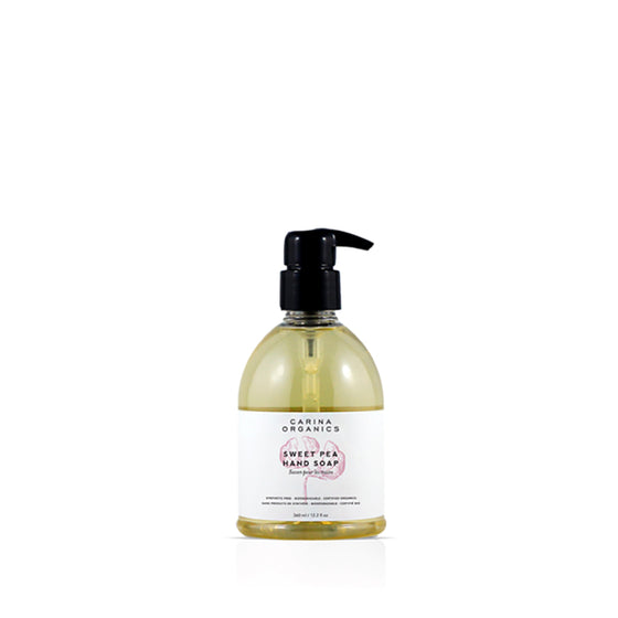 Sweet Pea Hand Soap 360ml-Carina Organics-Live in the Light