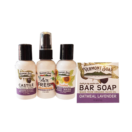 Lavender Travel Kit - Vermont Soap
