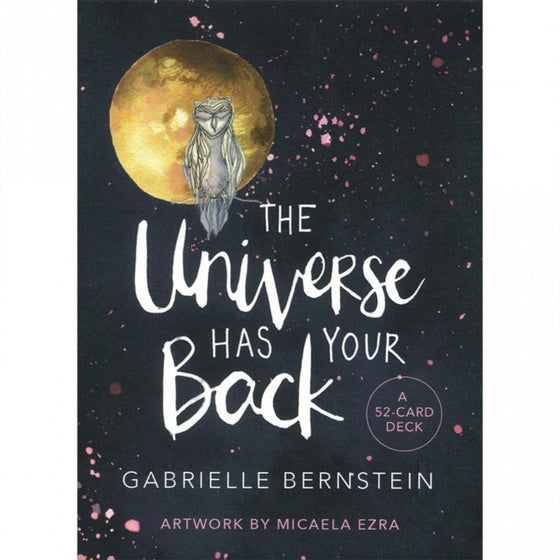 The Universe Has Your Back - Oracle cards-Holistic-Live in the Light