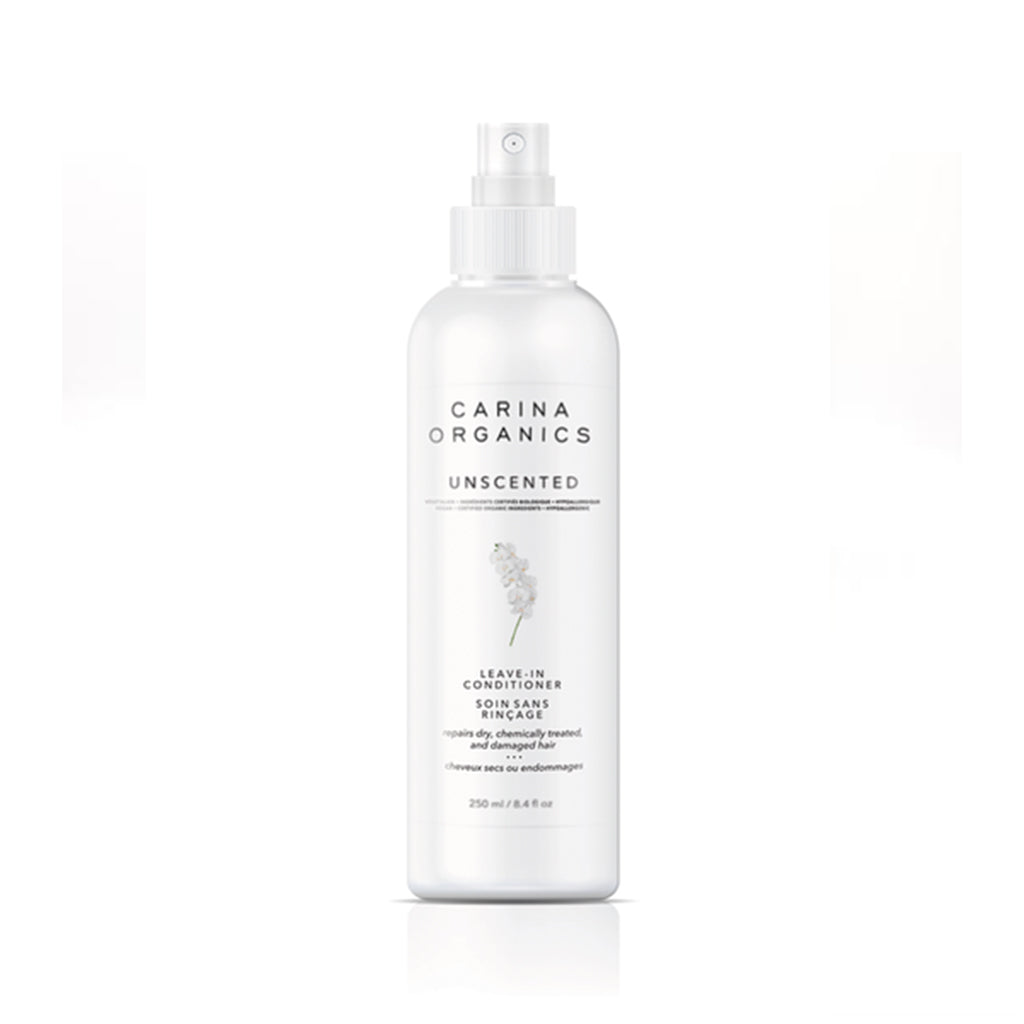 Unscented Leave-In Conditioner 250ml-Carina Organics-Live in the Light