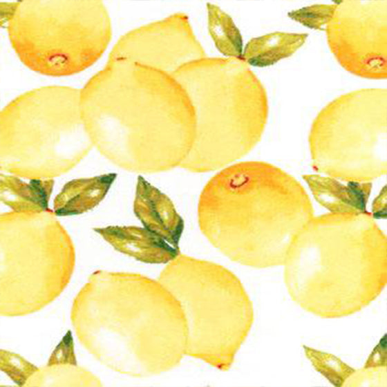 UNpaper Towels x 12 - Vintage Lemons by Marley's Monsters