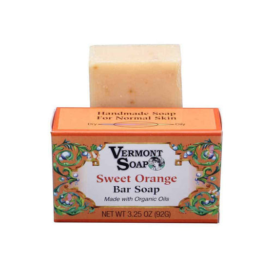 Handmade Bar Soap - Sweet Orange 92g