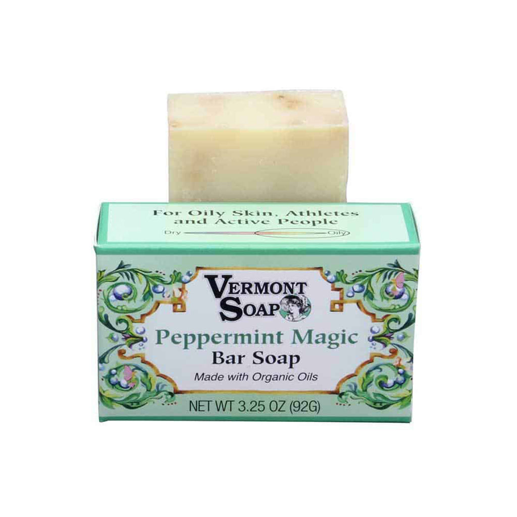 Handmade Bar Soap - Peppermint Magic 92g