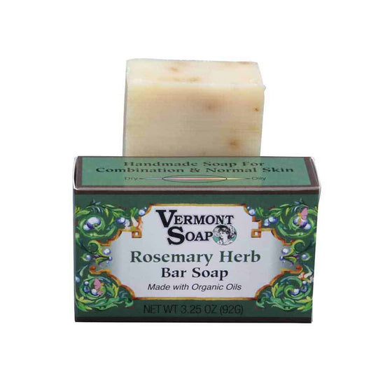 Handmade Bar Soap - Rosemary Herb 92g