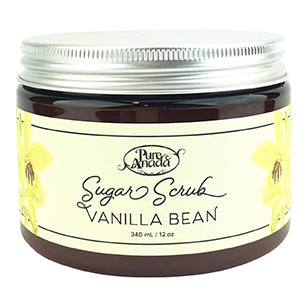 Vanilla Bean Sugar Scrub 340ml-PureAnada-Live in the Light