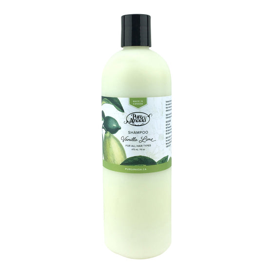 Vanilla & Lime Shampoo 475ml-PureAnada-Live in the Light