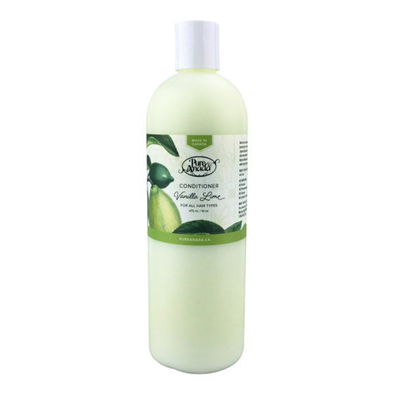 Vanilla & Lime Conditioner 475ml-PureAnada-Live in the Light
