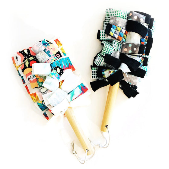 Washable Duster Ivory or Black by Marley's Monsters