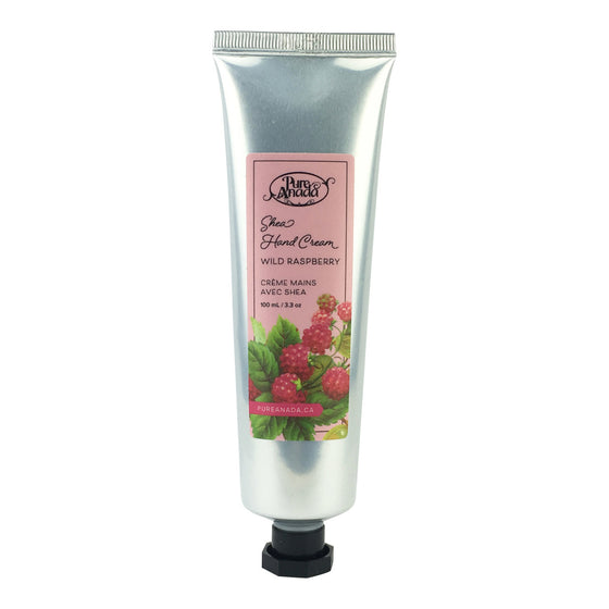 Wild Raspberry Shea Hand Cream 100ml-PureAnada-Live in the Light