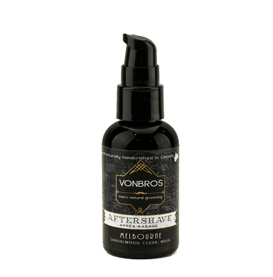 *New* Vonbros Aftershave - Melbourne 60ml
